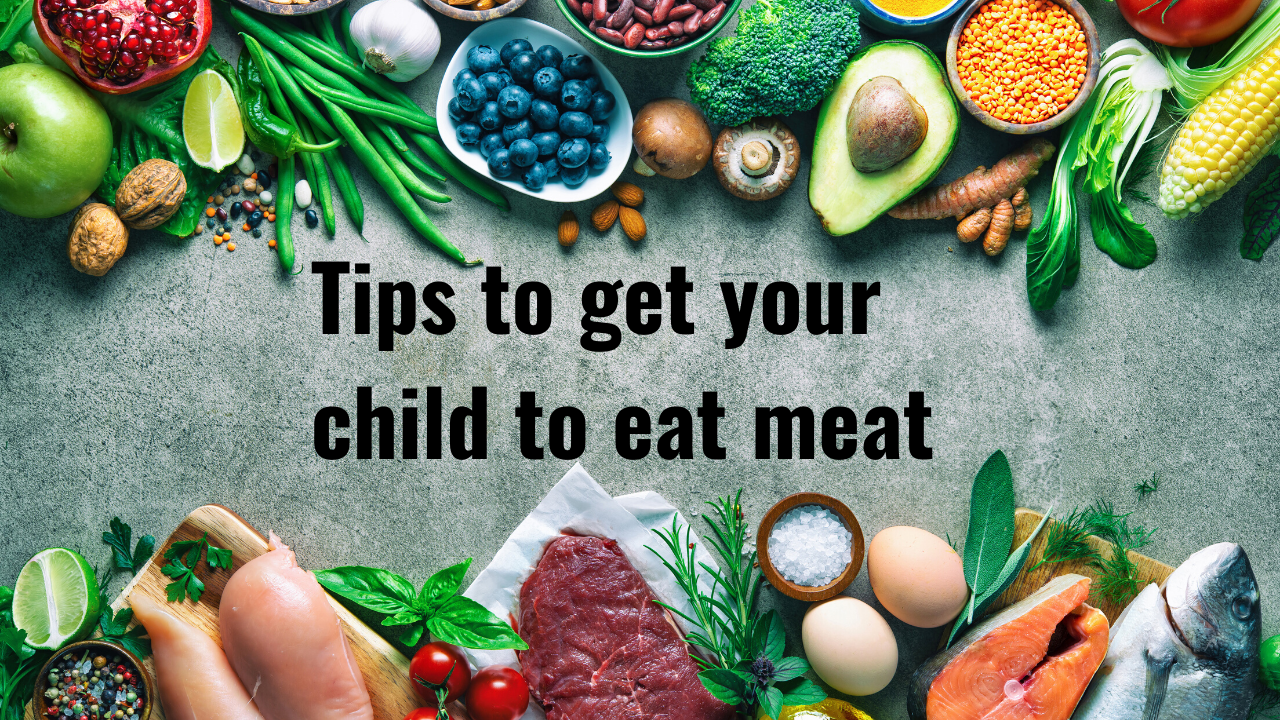 Tips form a dietitian for kids who won't eat meat