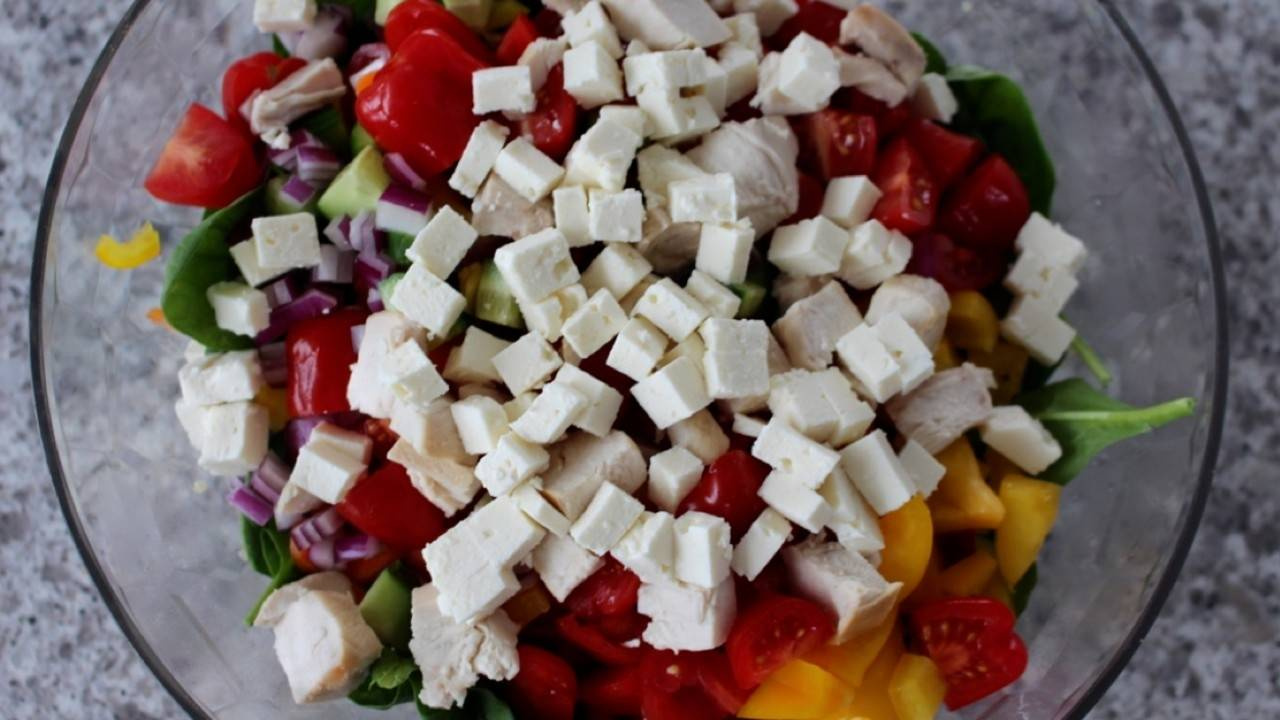 Quinoa Bocconcini Salad recipe