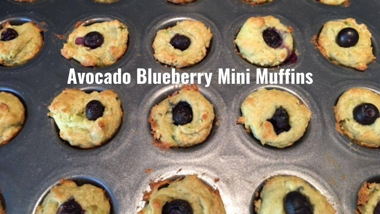 Avocado Blueberry muffin recipe