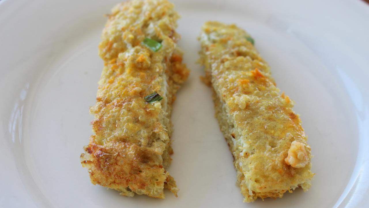Sweet Potato and Quinoa Breakfast Tortilla