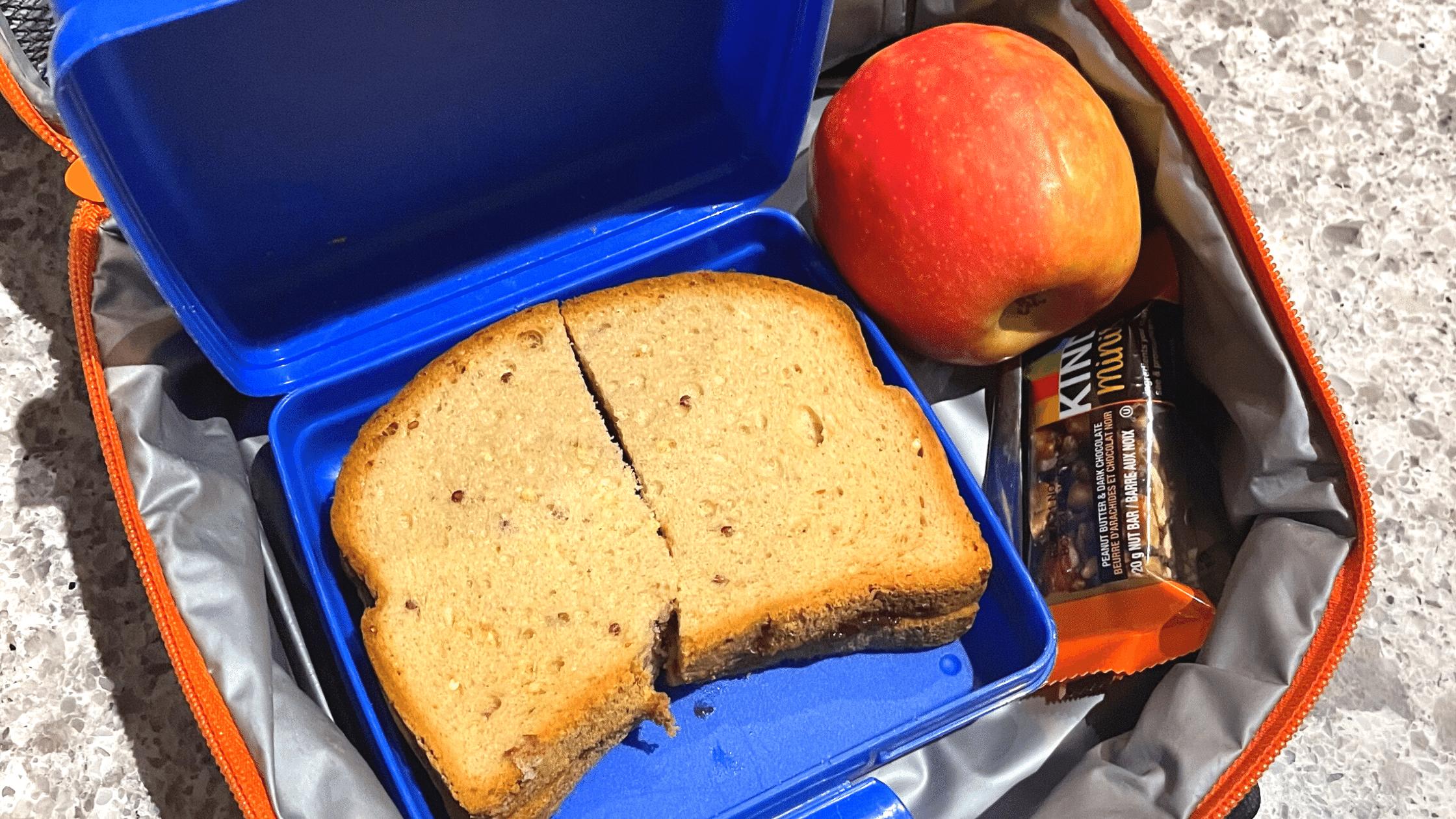 uneaten school lunch